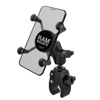 RAM® X-Grip® Phone Mount with Tough-Claw™ Small Clamp Base
