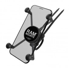 X-Grip® Large Phone Mount with EZ-On/Off™ Bicycle Base