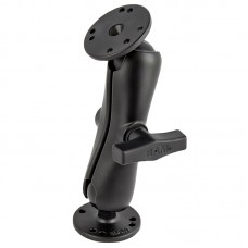 """1.5"""" Ball Mount with Standard Arm and 2.5"""" Round Bases"""