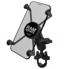 X-Grip® Large Phone Mount with Handlebar U-Bolt Base