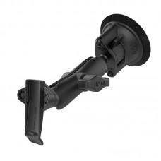 RAM® Twist-Lock™ Suction Cup Mount with Garmin Spine Clip Holder