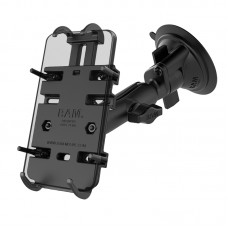 RAM® Quick-Grip™ Phone Mount with RAM® Twist-Lock™ Suction Cup Base