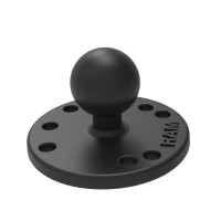 """1"""" Ball Round Base with AMPS Pattern"""