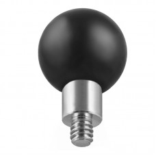 """1"""" Ball Camera Base with 1/4""""-20 Threaded Stud"""