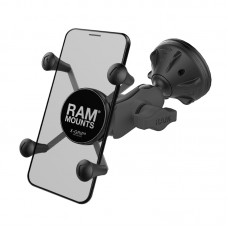 X-Grip® Phone Mount with Twist-Lock™ Low Profile Suction Base