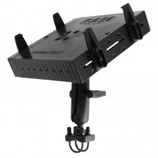 RAM® Tough-Tray™ Double Ball Mount with Double U-Bolt Rail Base