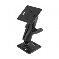 "Standard Double Socket Arm 1.5"" and Two 75mm VESA Plates"