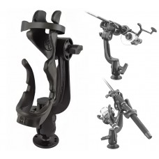 RAM-Rod™ 2000 Fishing Rod Holder with RAM-Rod™ Revolution Ratchet/Socket System and Round Base (Salt Water)