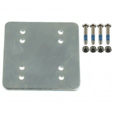 "3"" x 3"" Metal Backer Plate (AMPS) with Hardware"