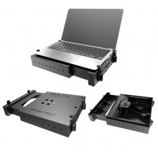 Tough Tray Universal  Laptop Holder c/w Flat Clamps
