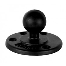 """Round Base with 1.5"""" Ball"""