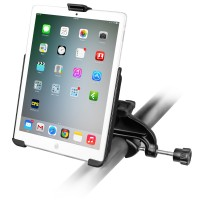 RAM® EZ-Roll'r™ Cradle with Yoke Clamp Mount for Apple iPad mini 1-3