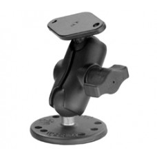 """Mount with Short 1"""" Ball Arm, Diamond and Round Bases"""