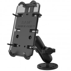 RAM® Quick-Grip™ XL Spring-Loaded Phone Mount with Drill-Down Base