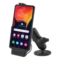 RAM® EZ-Roll'r™ Powered Drill-Down Mount for Samsung XCover Pro