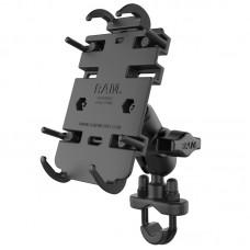 RAM® Quick-Grip™ Phone Mount with Handlebar U-Bolt Base