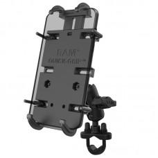 Quick-Grip™ XL Phone Mount with Handlebar U-Bolt Base