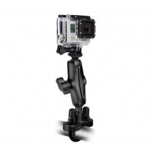 "Handlebar Mount with 1"" Ball Custom GoPro® Hero Adapter"