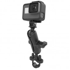 "Handlebar Mount with 1"" Ball Custom GoPro® Hero Adapter"