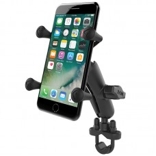 X-Grip® Phone Mount with Handlebar U-Bolt Base