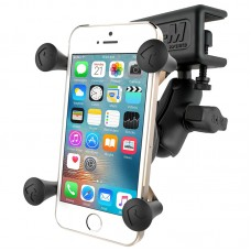 X-Grip® Phone Mount with Glare Shield Clamp Base