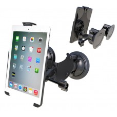 Dual Suction Cup EFB Mount with Arm & Retention Knob, and Form-Fit Holder for the Apple iPad mini 1-3