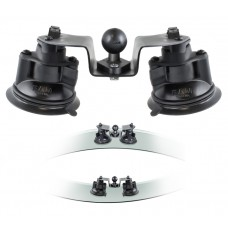 "Dual Articulating Suction Cup Base with 1"" Ball"