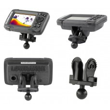 """B Size 1"""" Fishfinder Ball Adapter for the Lowrance Hook² Series"""