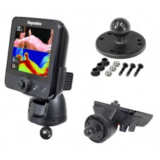 """2.5"""" Round Base with 1"""" Ball with Mounting Hardware for Raymarine® Dragonfly™"""