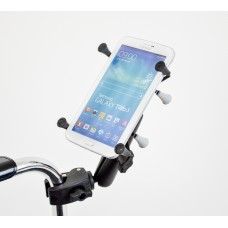 "Universal X-Grip® 7"" Tablet Rail and Tube Mount"