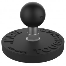 RAM® Tough-Mag™ 66MM Diameter Magnetic Ball Base with 'B' sized ball