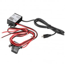 GDS® 8V-40V DC to 5V-9V DC Step Down Converter Charger with Male Micro-B USB Connector