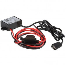 GDS® 8-40 VDC to 5V-9V DC Step Down Converter Charger with Female USB Type-A Connector