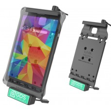 Vehicle Dock with Audio Jumper Cable and GDS™ Technology for the Samsung Galaxy Tab 4 8.0