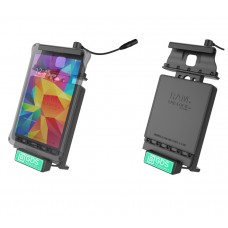 Locking Vehicle Dock with Audio Cable and GDS™ Technology for Samsung Galaxy Tab 4 8.0