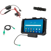 RAM® EZ-Roll'r™ Powered Holder for Samsung Tab Active3 and Tab Active2 with Charger