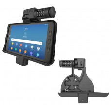 Locking Powered Vehicle Cradle with Combination Lock for the Samsung Galaxy Tab Active2