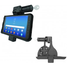 Locking Powered Vehicle Cradle with Keyed Lock for the Samsung Galaxy Tab Active2