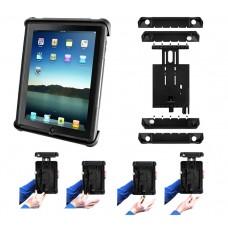 "Tab-Lock™ Locking Holder for 10"" Tablets inc. Apple iPad & Samsung Galaxy"