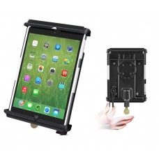 Tab-Lock™ Locking Holder for the iPad mini WITH Case, Skin or Sleeve