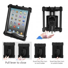Tab-Lock™ Locking Holder for the iPad with LifeProof & Lifedge Cases