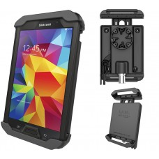 """Tab-Lock™ Locking Holder for 7"""" Tablets including the Samsung Galaxy Tab 4 7.0 with Otterbox Defender Case"""