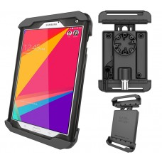 """Tab-Lock™ Locking Holder for 8"""" Tablets including Samsung Galaxy Tab 4 8.0 and Tab S 8.4 with Otterbox Defender Case"""