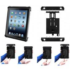 "Tab-Lock™ Locking Holder for 10"" Tablets inc. Apple new iPad, iPad 2 & iPad 1"