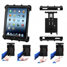 """Tab-Lock™ Locking Holder for 10"""" Tablets with Heavy Duty Cases"""