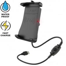 RAM® Quick-Grip™ Waterproof Wireless Charging Holder