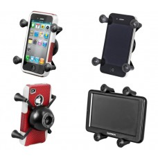X-Grip® Universal Phone & Sat Nav Holder with Snap Link Socket