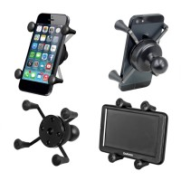 """X-Grip® Universal Phone Holder with 1"""" Ball"""