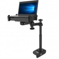 No-Drill™ Laptop Mount for the Ford Transit Full Size Van. Left Hand Drive