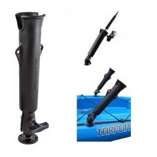 RAM-Tube™ 2008 Fishing Rod Holder w/ Flat Surface Base